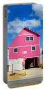 Pink House On The Beach 3 Portable Battery Charger