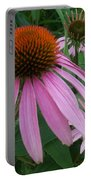 Pink In The Garden Portable Battery Charger