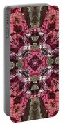 Pink Kaleidoscope Portable Battery Charger