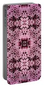 Pink Lace Portable Battery Charger