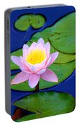 Pink Lily Portable Battery Charger
