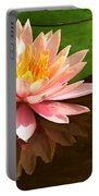 Pink Lily Reflection 4 Portable Battery Charger