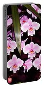Pink Little Orchids Portable Battery Charger