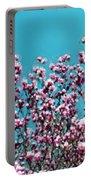 Pink Magnolia Splendor Portable Battery Charger