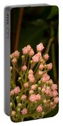 Pink Mountain Laurel Buds Portable Battery Charger