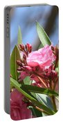 Pink Oleander IIi Portable Battery Charger