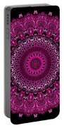 Pink Passion No. 7 Mandala Portable Battery Charger
