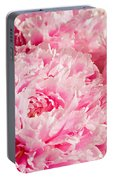 Pink Peony Bouquet Portable Battery Charger