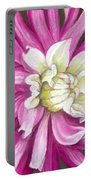 Pink Petal Blast Portable Battery Charger