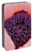 Pink Poppy Soul Portable Battery Charger