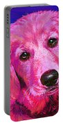Pink Retriever Portable Battery Charger