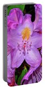Pink Rhododendron 003 Portable Battery Charger