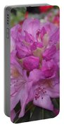 Soft Purple Rhododendron  Portable Battery Charger