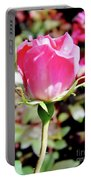 Pink - Rose Bud - Beauty Portable Battery Charger