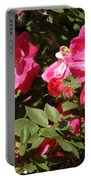 Pink Rose Of Sharon Blooms      Spring     Indiana Portable Battery Charger