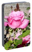 Pink Rose... Roses Portable Battery Charger