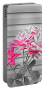Pink Rose Tree Pop Portable Battery Charger