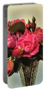 Pink Roses Bouquet 2 Portable Battery Charger