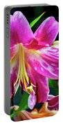 Pink Rules - Impasto Portable Battery Charger