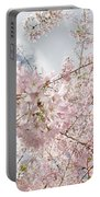 Pink Spring Portable Battery Charger