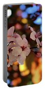 Pink Spring Flowers Portable Battery Charger