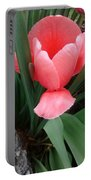 Pink Tulip Portable Battery Charger