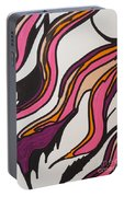 Pink Waves Portable Battery Charger