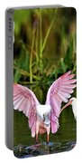Pink Wings Portable Battery Charger