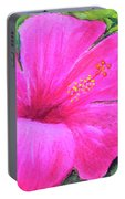 Pinkhawaii Hibiscus #505 Portable Battery Charger