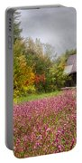 Pinks In The Pasture Portable Battery Charger