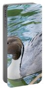 Pintail Portrait Portable Battery Charger