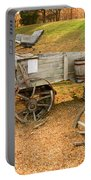 Pioneer Wagon And Broken Wheel Portable Battery Charger