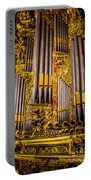 Pipe Organ Detail Portable Battery Charger