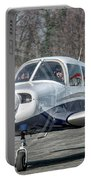 Piper Pa28 I-cnpg Taxiing To The Runway Portable Battery Charger