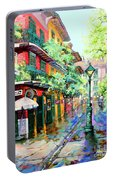 Pirates Alley - French Quarter Alley Portable Battery Charger