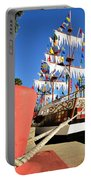 Pirates In Harbor Portable Battery Charger