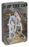 Pirates Skeleton Portable Battery Charger