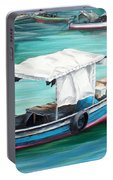 Pirogue Fishing Boat  Portable Battery Charger