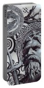 Pisces Poseidon Zodiac Portable Battery Charger