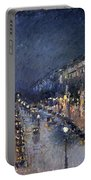 Pissarro: Paris At Night Portable Battery Charger