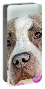 Pit Bull Dog - Pure Love Portable Battery Charger