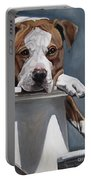 Pitbull Stare Portable Battery Charger