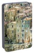 Pitigliano Houses Closeup Grosseto Tuscany Portable Battery Charger