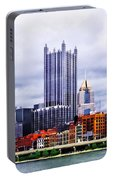 Pittsburgh Pa Skyline Portable Battery Charger