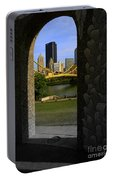 Pittsburgh Skyline, North Shore Arch, Pittsburgh, Pa  Portable Battery Charger