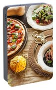 Pizza Portable Battery Charger