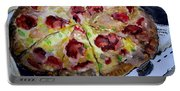 Pizzas Here Portable Battery Charger