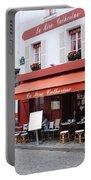 Place Du Tertre In Paris Portable Battery Charger