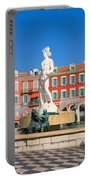 Place Massena Of Nice In France Portable Battery Charger