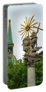 Plague Column And Saint Martin Cathedral Portable Battery Charger